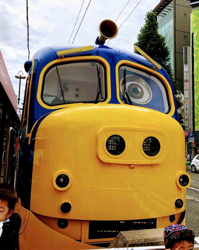 おかでんチャギントン電車のブルースター